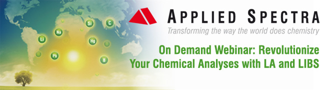 On Demand Webinar - Your Chemical Analysis with LA and LIBS